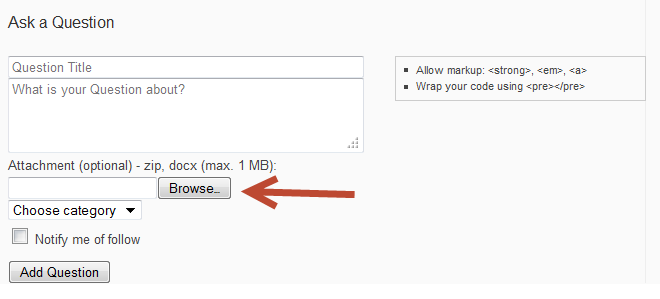 wordpress forum file sharing with CM Answers