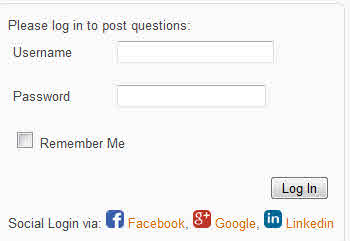 how to login with social media