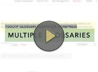 Multiple Glossaries Thumbnail