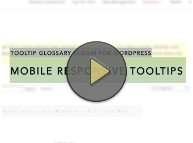 Mobile Friendly Tooltip Thumbnail
