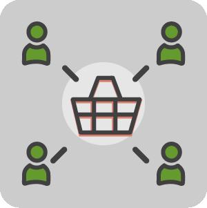 Shared cart