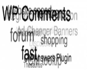 WordPress forum Widgets- CM Answers Widget Dynamic Cloud