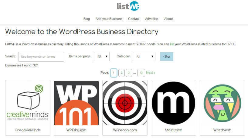 ListWP WordPress Business Directory