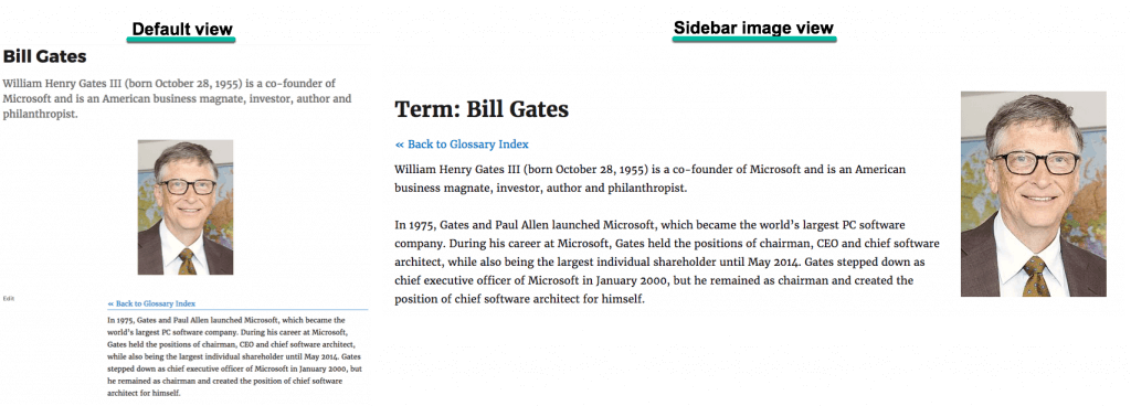 Tooltip Glossary: Glossary Term View: Sidebar Image template