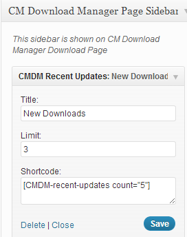 CM Download Manager support guide