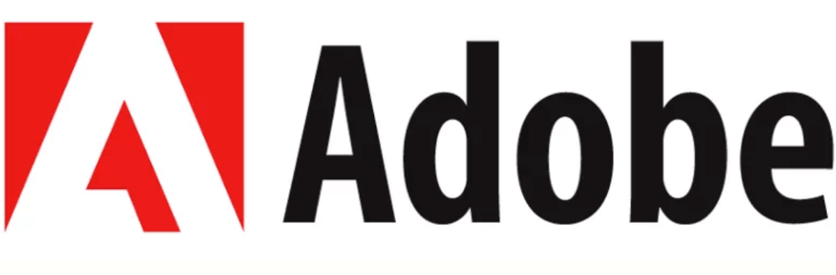 Image of the Adobe logo, the company who purchased Magento and will likely bring new personalization features
