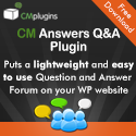 CM Answers best Q&A Plugin for WordPress