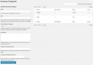 CM Business Directory - Categories