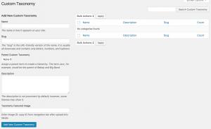 CM Business Directory - Custom Taxonomy