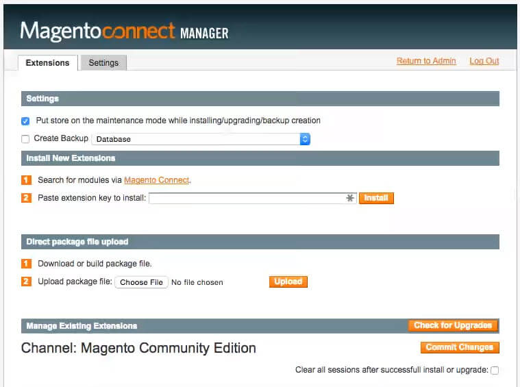 How to install a magento extension- Magento connect