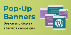 Pop-Up Banners WordPress