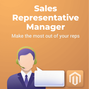 Sales Rep Manager Magento