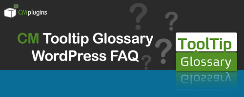 New Glossary Add-Ons for WordPress CM Tooltip