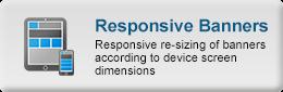 WP Ad server Demo - responsive resizing