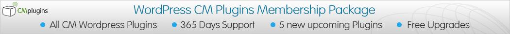 CM WordPress Plugins Yearly Membership