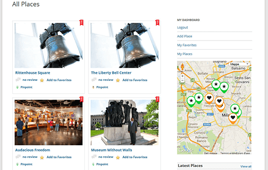 GeoDirectory directory page